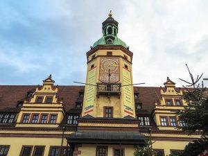 Eski Leipzig belediye binasi