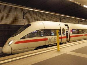 Berlin - Leipzig hizli treni