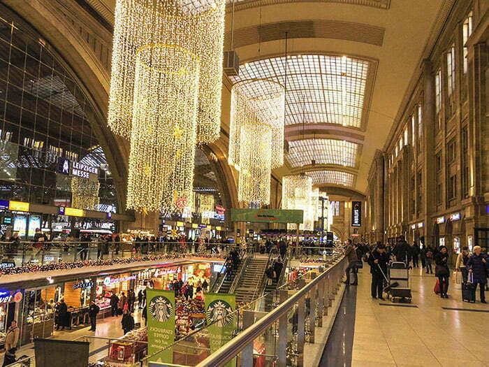 Leipzig tren istasyonu