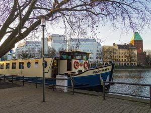 Konakladigimiz gemi - Berlin