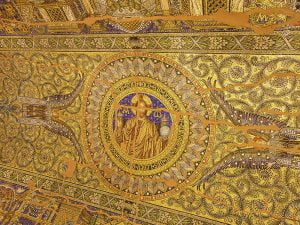 Yikik Kilise'nin tavani