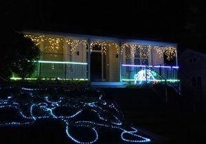 Franklin Road`daki Noel Isiklari - Auckland