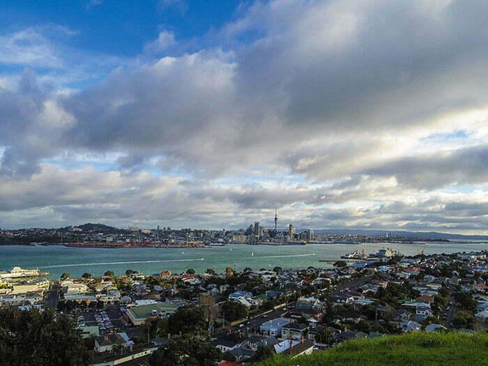 Devonport - Auckland manzarasi