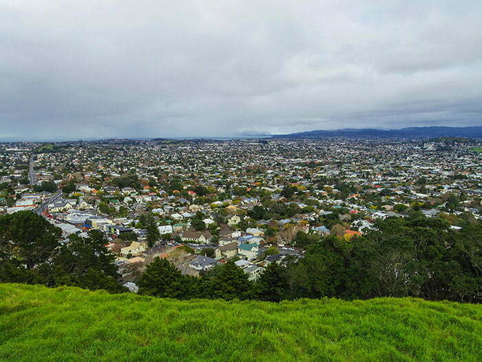 Baska bir acidan Auckland manzarasi