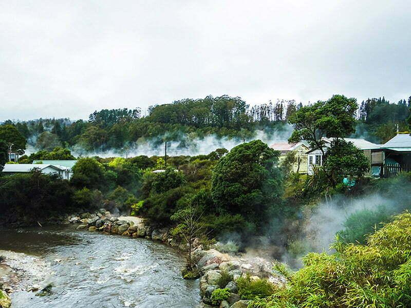 Rotorua Whakarewarewa Maori Koyu