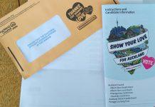 Yerel secim zarfi - Yeni Zealanda
