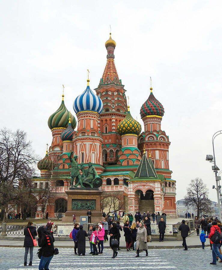 Aziz Vasilis Katedrali - Moskova Kizil Meydani