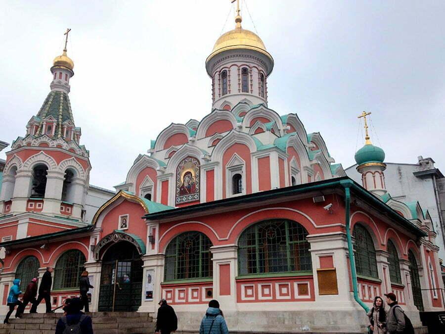 Kazan Katedrali - Moskova Kizil Meydan