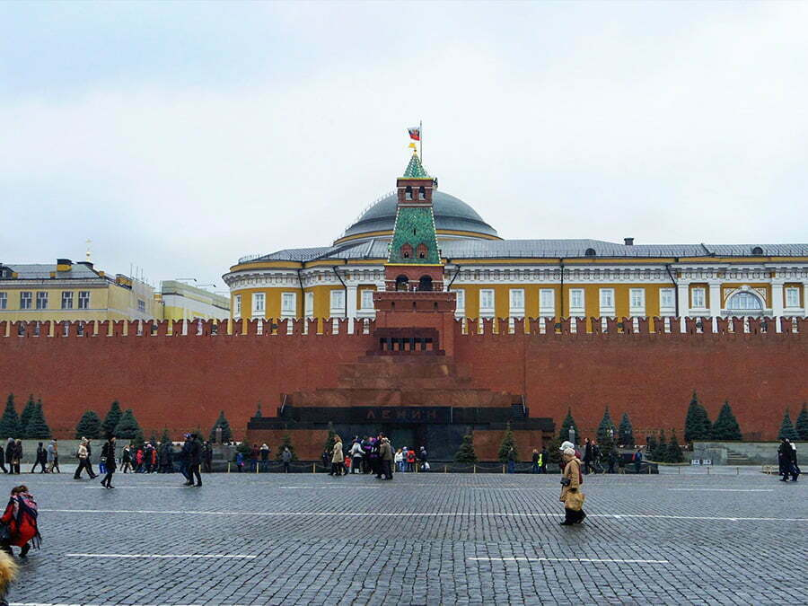 Lenin Anit Mezari - Moskova Kizil Meydani