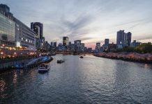 Osaka manzarasi