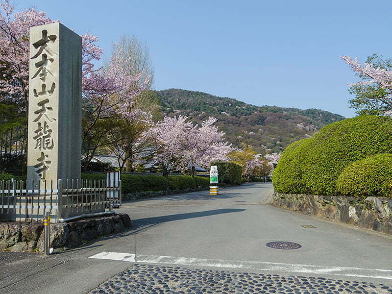 Tenryuji Tapinagi girisi - Kyoto