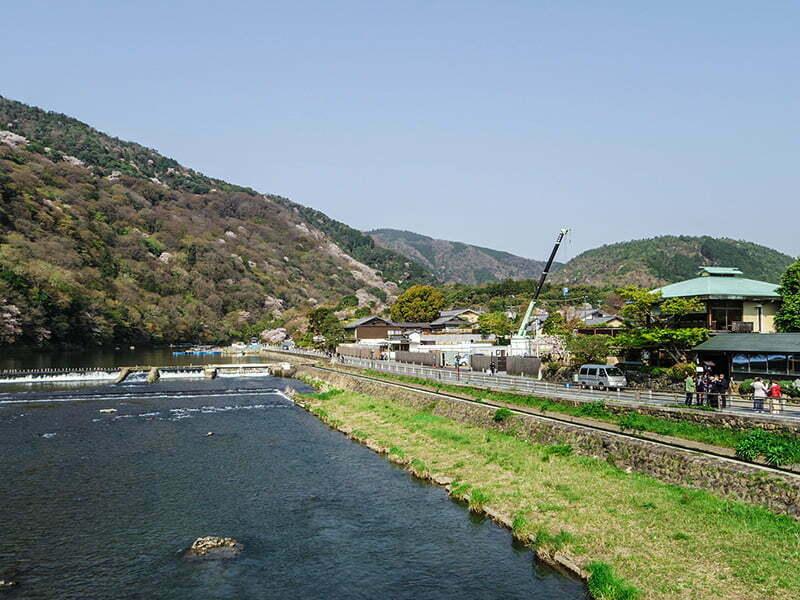 Togetsukyo Koprusunden Arashiyama - Kyoto