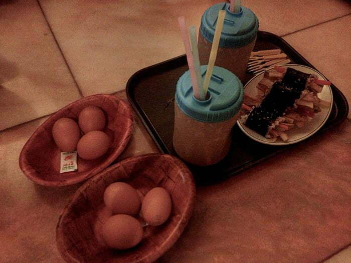 guney kore saunada kahvalti