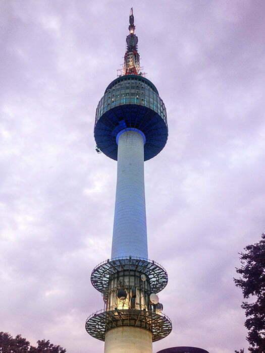 seul kulesi guney kore