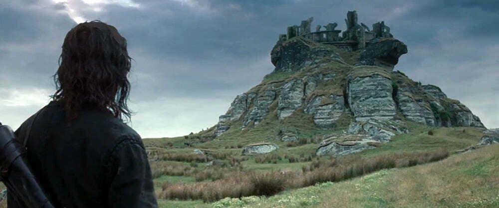 Yüzüklerin Efendisi filminde Fırtınatepesi olarak kullanılan yer.