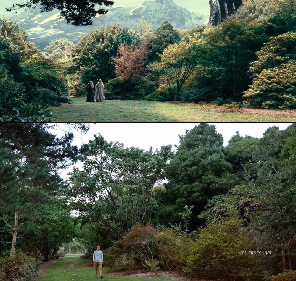 Gandalf ve Sarumanın yürüdükleri sahnenin çekim yeri.