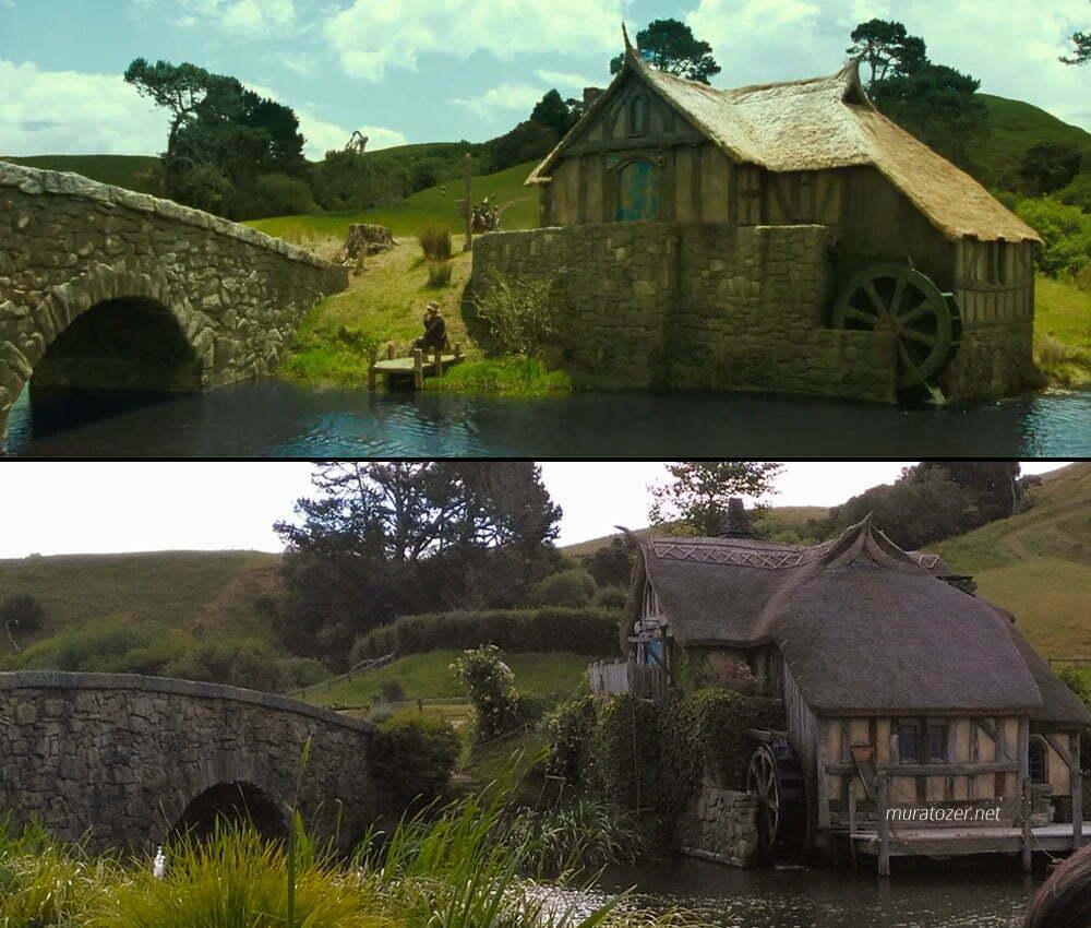 Hobbitköyü değirmeni.