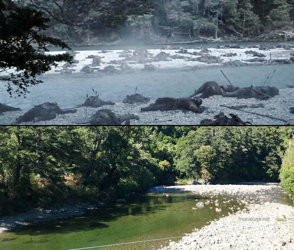 İki Kule'de Isen Nehri olarak kullanılan nehir.