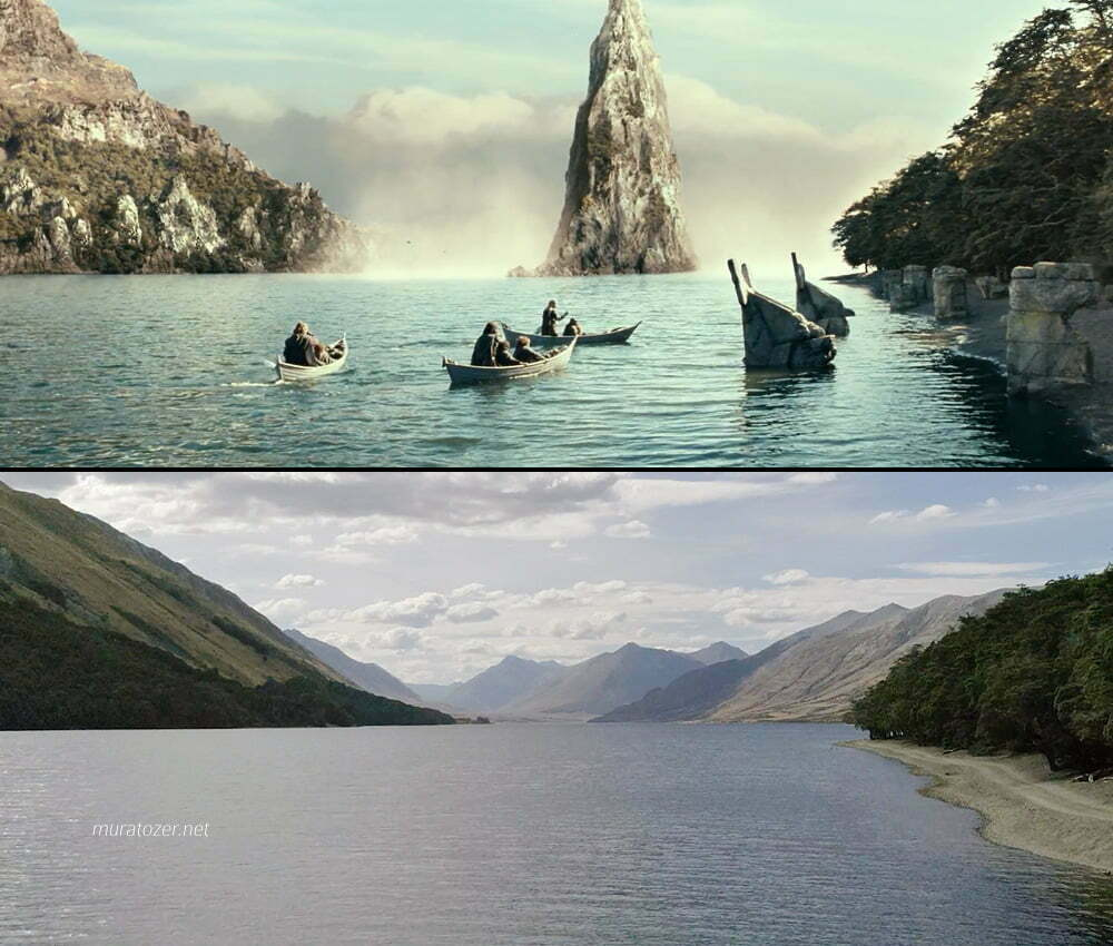 Yüzüklerin Efendisi filminde Nen Hithoel Gölü olarak görünen yer.
